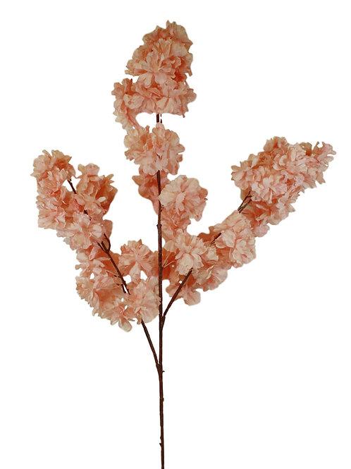 "42"" Silk Peach Blossom Spray - Mauve"