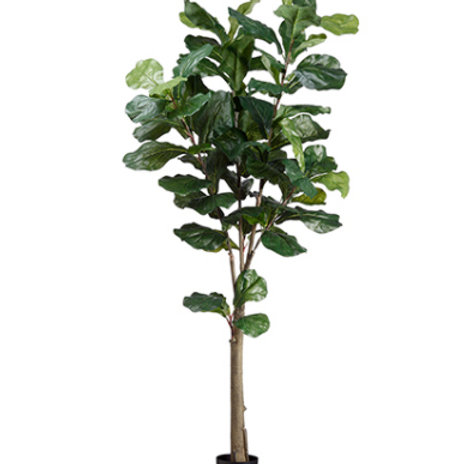Artificial Fiddle Leaf Fig Tree in pot - 5' Tall