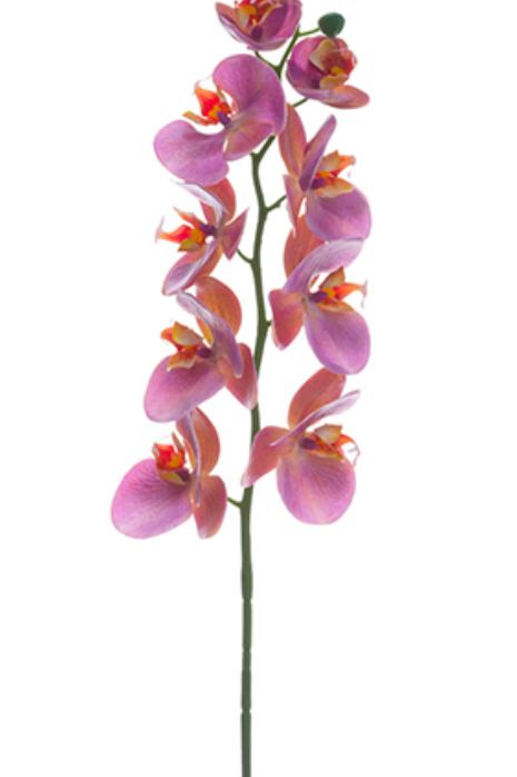 "30"" Real Touch Phalaenopsis Orchid Spray"