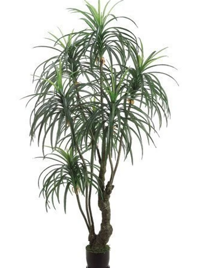 Artificial Yucca Tree in pot - 7' Tall