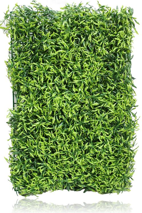 """Plastic Boxwood Grass Mat - 26"""" x 17"""""""