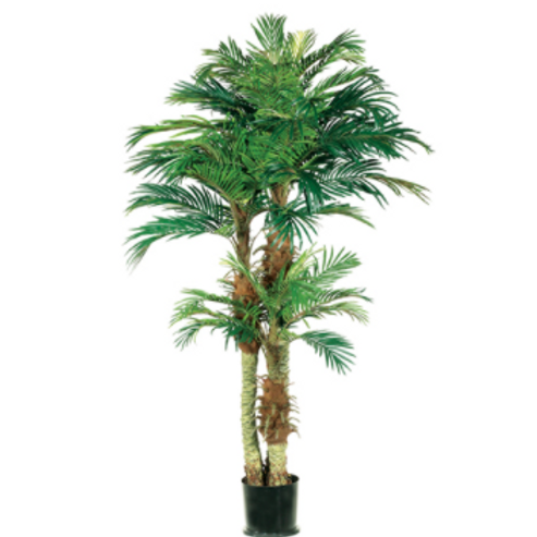 Artificial Phoenix Palm Tree in pot - 6' Tall