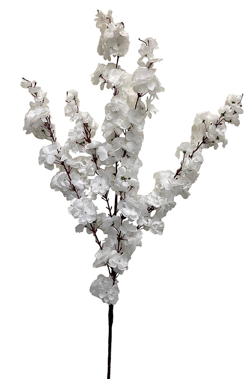 "49"" Artificial Cherry Blossom Spray x 6"