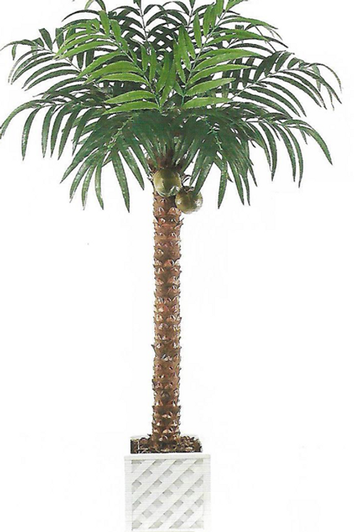 10' Artificial Coconut Palm Tree x 12 leaves with 2 coconuts