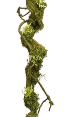 "Artificial Moss Twig Vine -34"" Long"