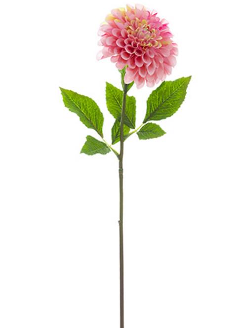 "24"" Silk Dahlia Spray - Pink"