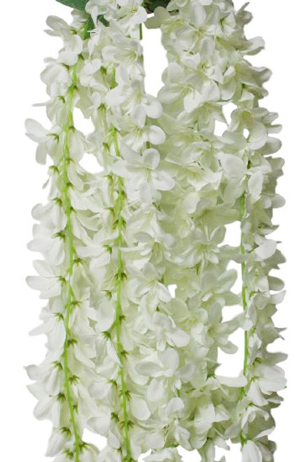 """Silk Foxtail Orchid Hanging Spray - 32"""" Long"""