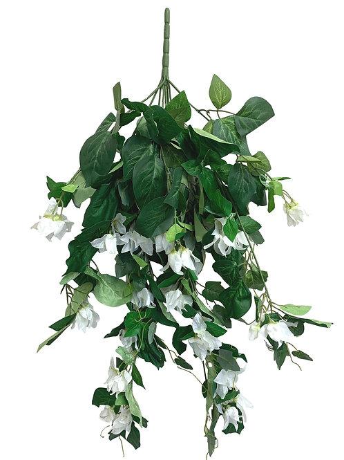 """31"""" Hanging Bougainvillea (INT-6331-CREAM)"""