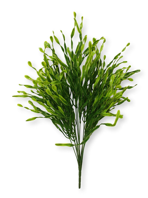 "22"" Plastic Grass Bush with 14 Stems"