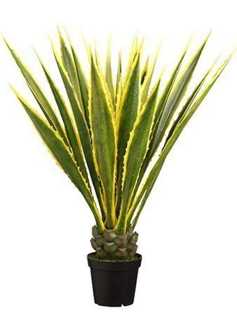 """Artificial Agave Americana Plant in pot - 48"""" Tall"""