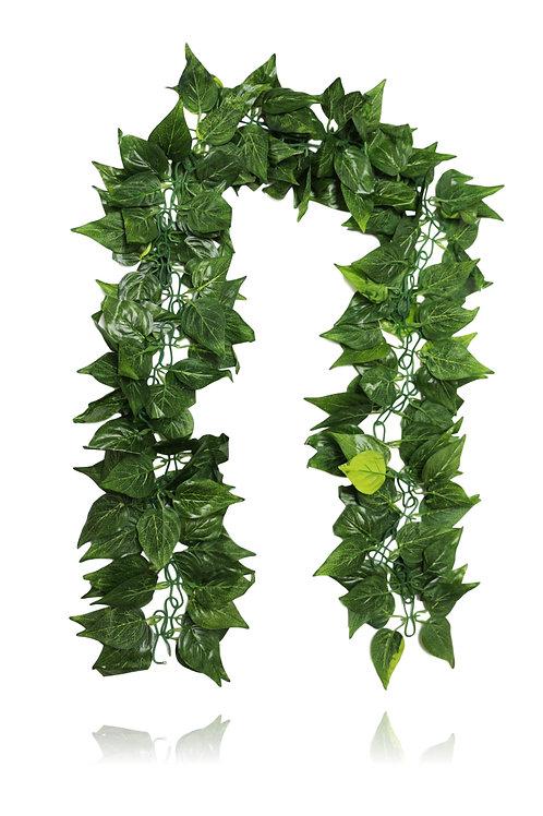 Artificial Philo Vine - 9' Long