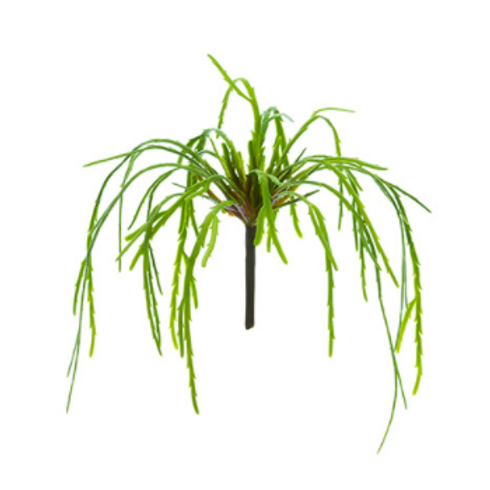 "13"" Soft Plastic Hanging Cactus Pick Green"