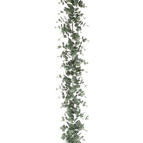 Faux Eucalyptus Garland -6' Long