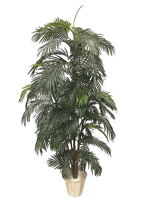 7' Artificial Areca Palm Tree
