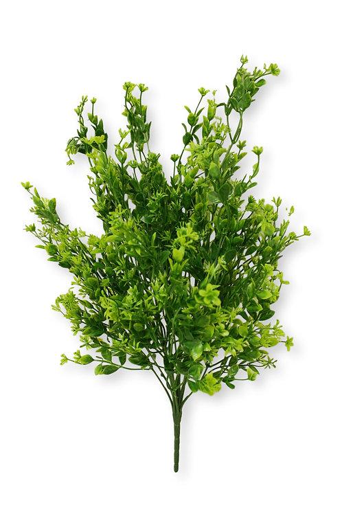 "22"" Plastic Grass Bush with 14 Stems"