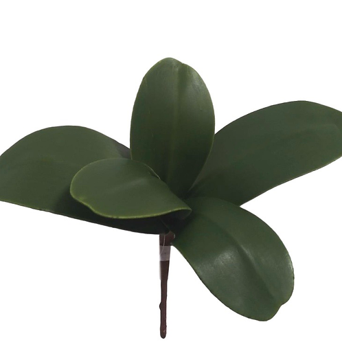 "13"" Real Touch Phalaenopsis Orchid Leaf x 5"