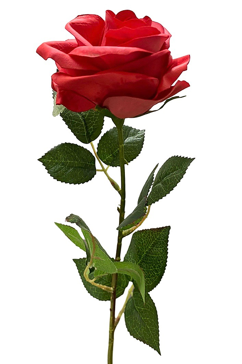 """25"""" Real Touch Single Stem Rose"""