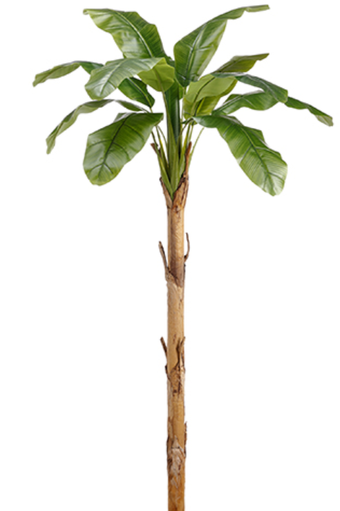 """101"""" Real Touch Banana Leaf Plant in pot"""