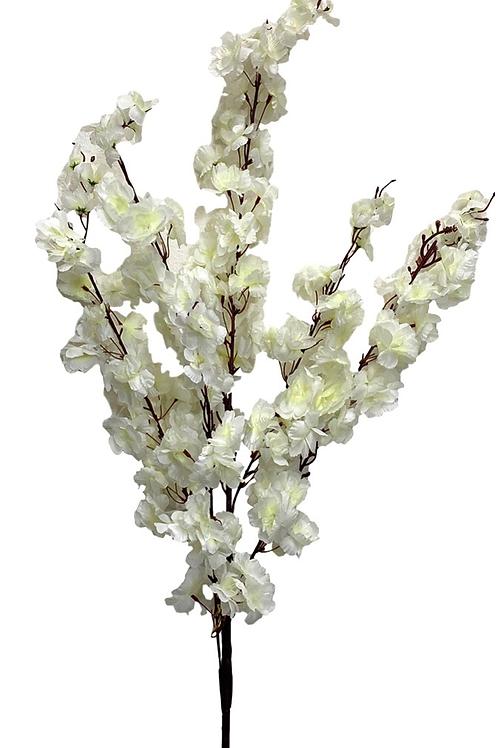 "49"" Artificial Cherry Blossom Spray x 6"