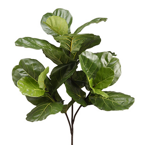 "41"" Artificial Fiddle Leaf Branch"