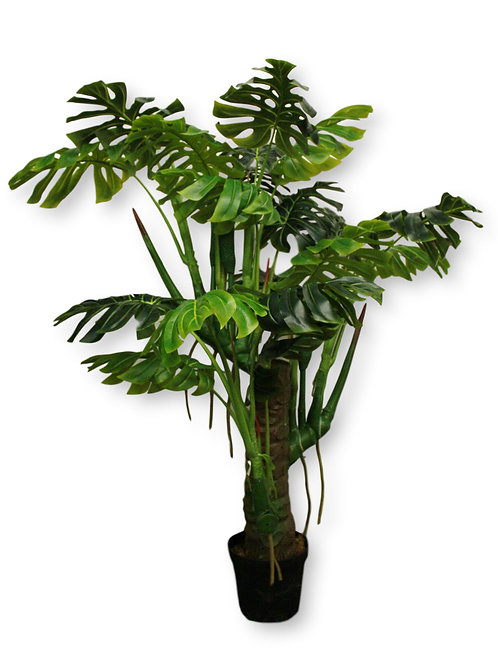 "6' Real Touch Split Philo Tree w /10"" pot"