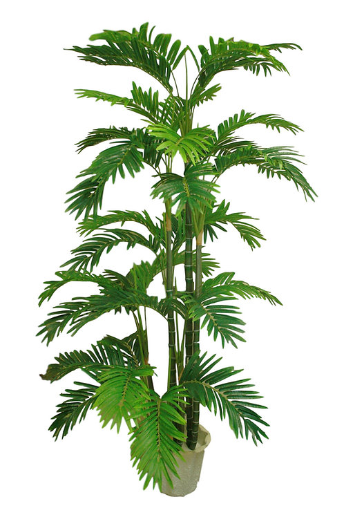 6' Artificial Golden Palm Tree