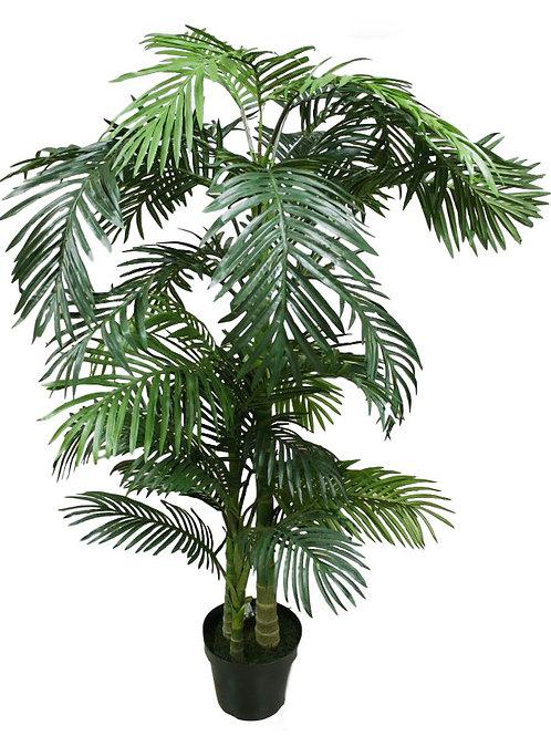 6.5' Silk Golden Palm Tree