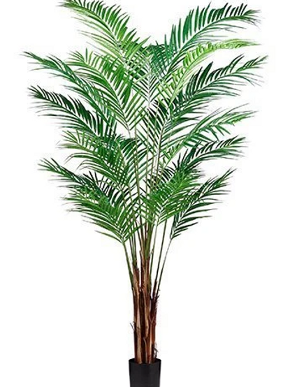 7' Artificial Areca Palm Tree in pot