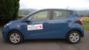 Driving school car - Hyundai i10 Rhyl driver training offers the very best training in the Ruthin area.