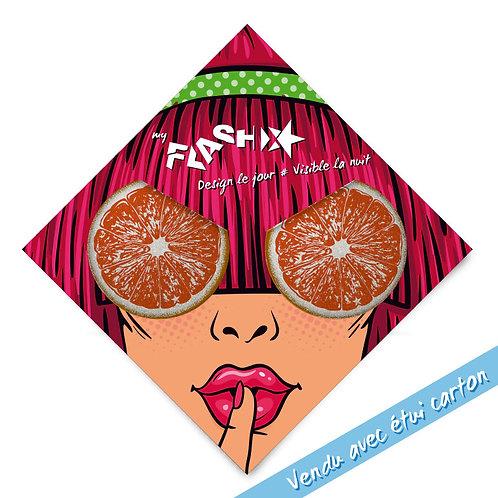 My FLASH *Woman1950's Orange Eyes X2