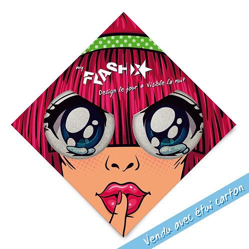 My FLASH *Woman1950's Crying Eyes X2