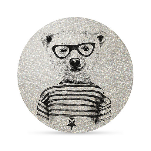Flash Hipster Bear