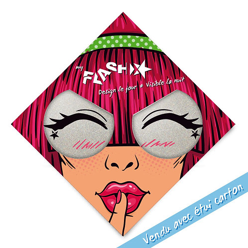 My FLASH *Woman1950's Lauhing Eyes X2