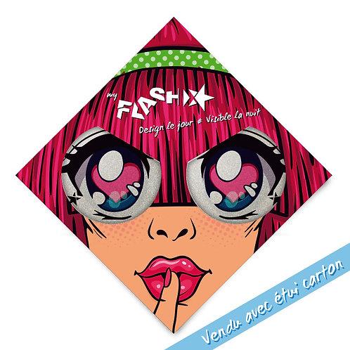My FLASH *Woman1950's Candy Eyes X2