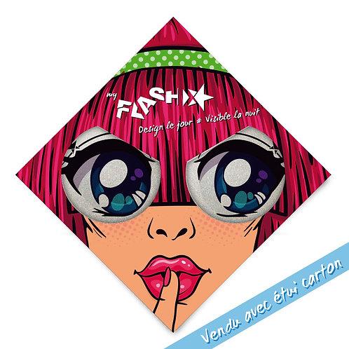 My FLASH *Woman1950's Dreaming Eyes X2