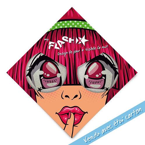 My FLASH *Woman 1950s Manga Eyes X2