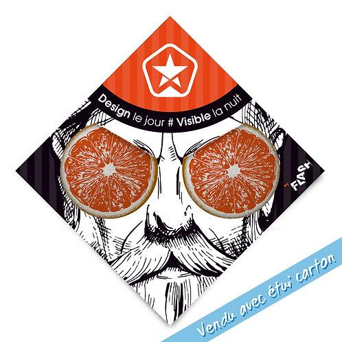 My FLASH *Hipster's Orange Eyes X2