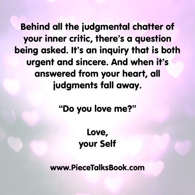 Behind Your Inner Critic Chatter