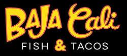 Baja Cali Fish & Tacos Rectange Logo