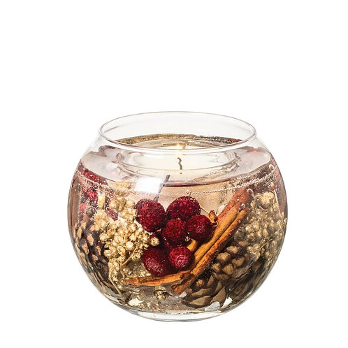 STONEGLOW Nutmeg, Ginger & Spice Natural Wax Fishbowl