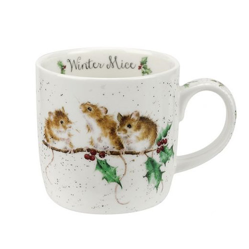 WRENDALE 'Winter Mice' Mug