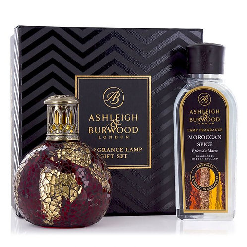 ASHLEIGH & BURWOOD Fragrance Lamp Dragons Eye Gift Set