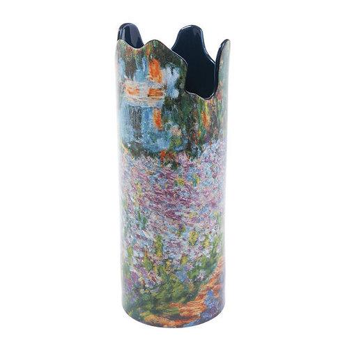 MONET Irises In The Garden