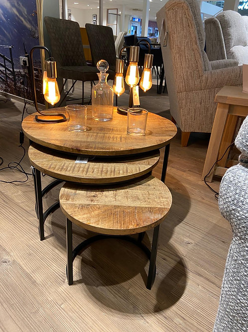 MANGO Round Nest of Tables