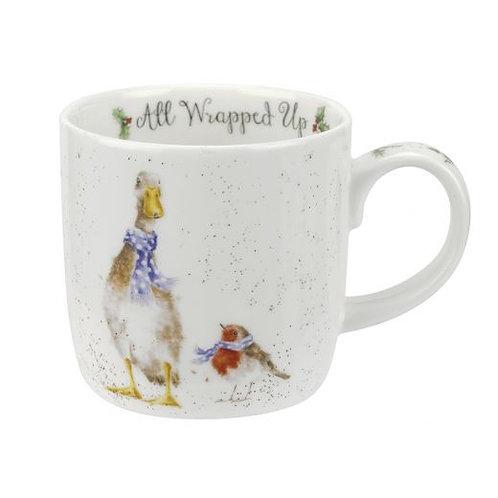 WRENDALE Christmas Duck Mug