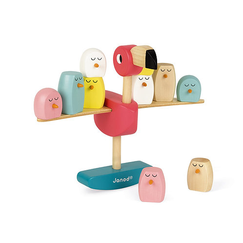 JANOD Zigolos Balancing Game Flamingo
