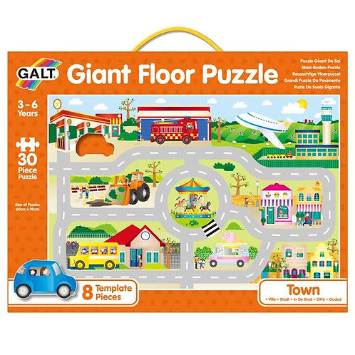 GALT Town Floor Puzzle