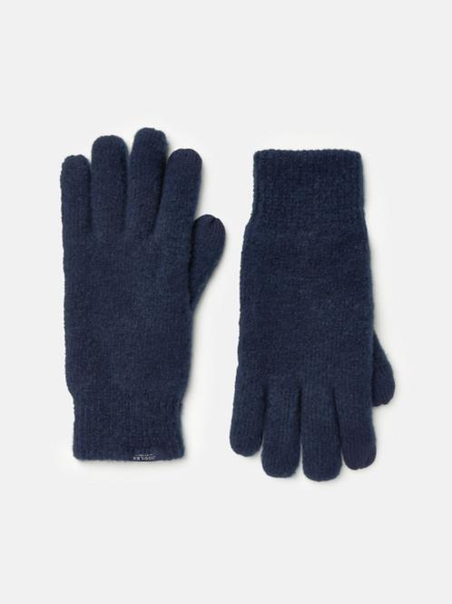 JOULES Bamburgh Navy Gloves