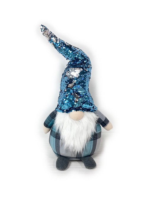 BLUE CHRISTMAS Standing Weighted Gonk