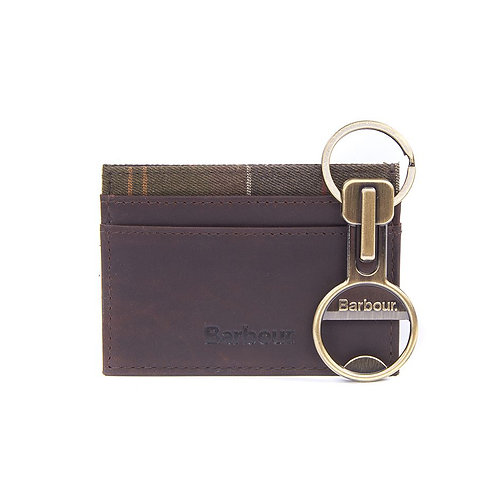 BARBOUR Cardholder Gift Set